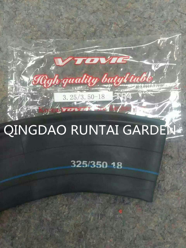 Qingdao Made High Quality Motorcycle Butyl Inner Tube (3.25/3.50-18)