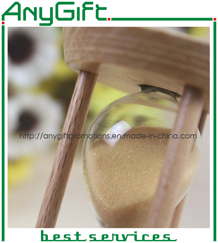 Wooden Hourglass with Customized Logo