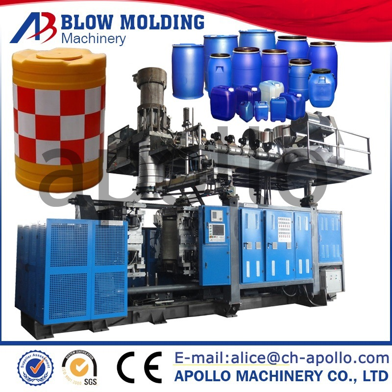 High Quality Hot Sale Anti-Bump Barrel Blow Molding Machine