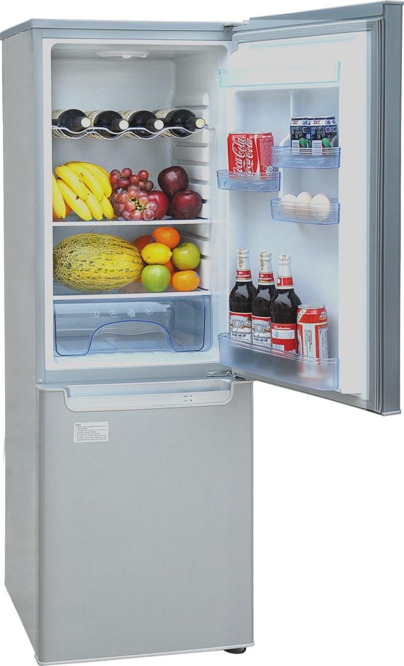 DC 12V 24V CE Upright Style Refrigerator 210L
