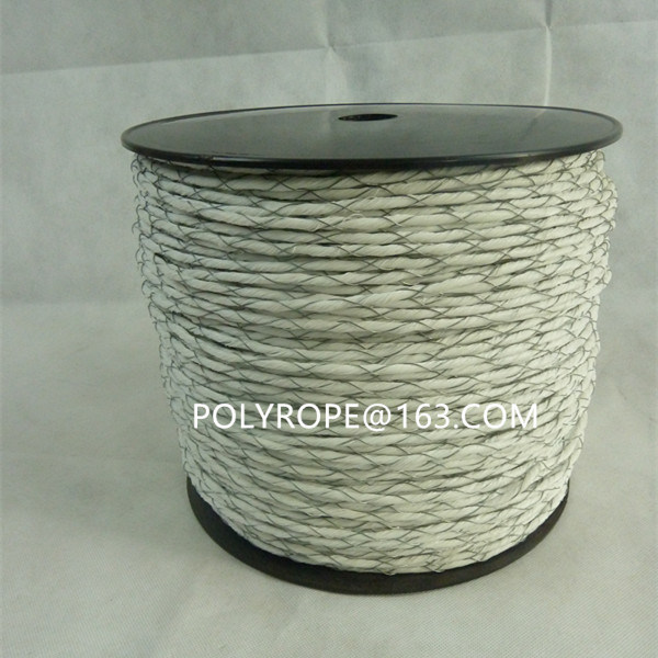 White Electric Rope