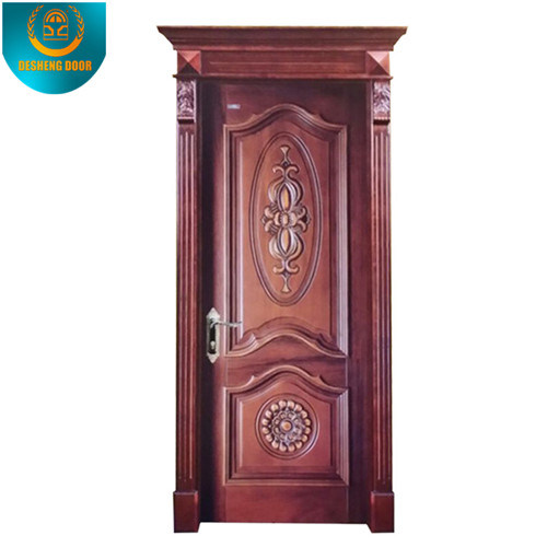 European Style Bedroom Solid Wooden Door (DS-8036)