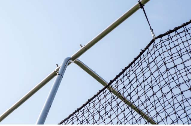 Twisted Poly Batting Cage Net and Frame