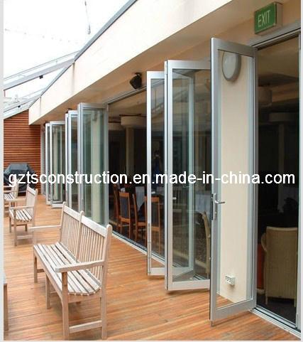 High Quality Double Glazed Aluminum Bifold Door&Folding Door