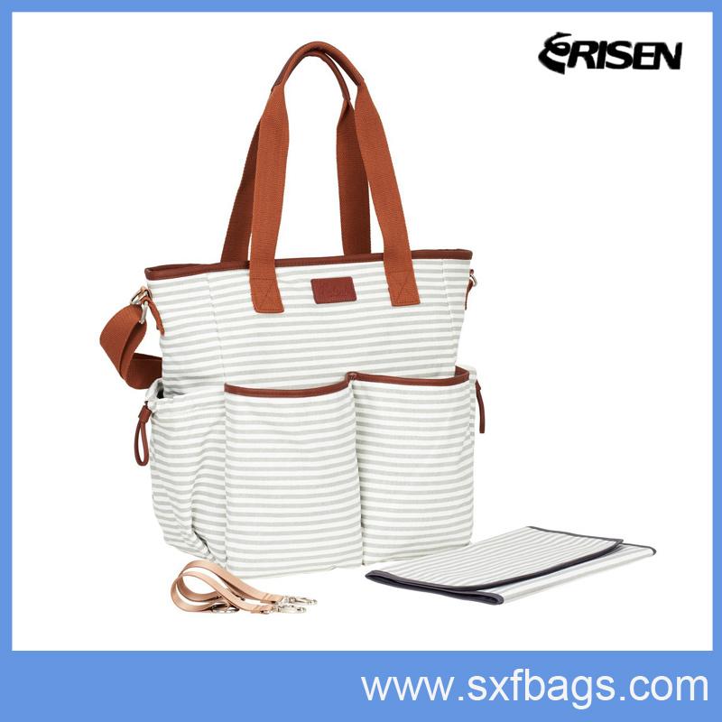 Factory Supply Multifuctional Tote Bag, Baby Bag, Diaper Bag