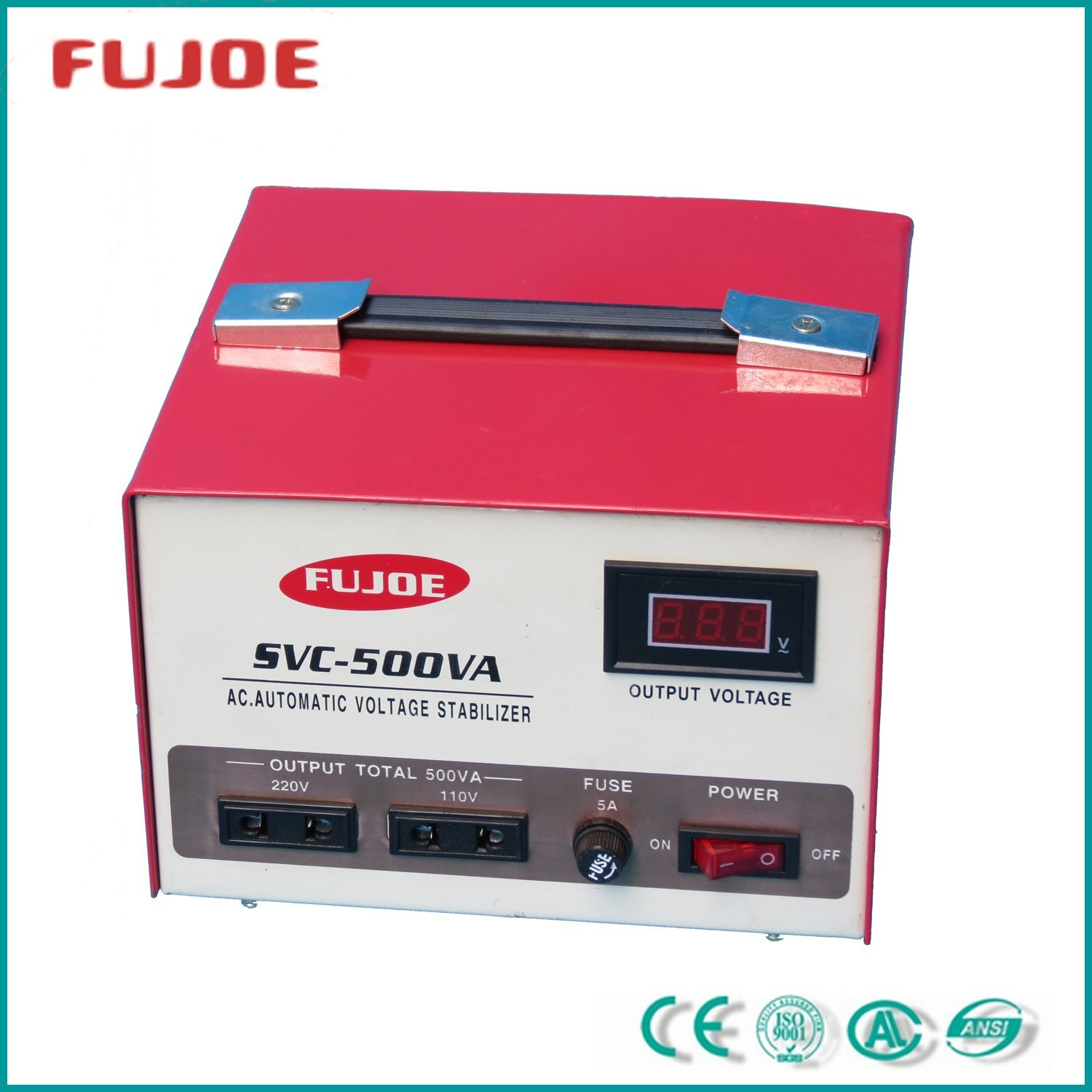 Power Supply Single Phase SVC-500va Automatic Voltage Stabilizer