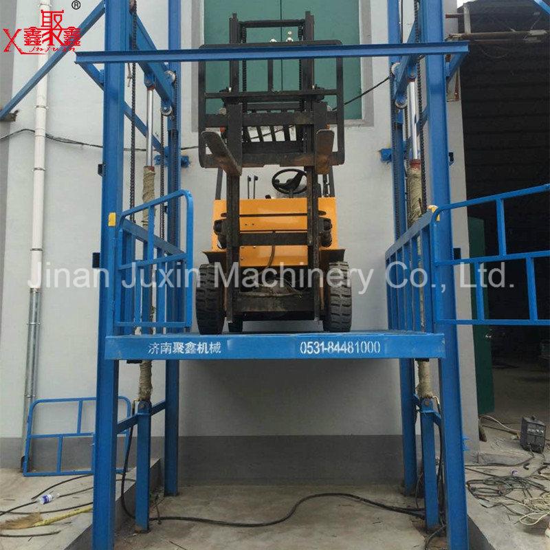 Indoor Warehouse Guard Rail Lift Table