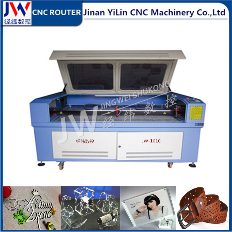 60W/80W/100W/130W/150W CO2 Laser Machine for Acrylic Fabric Clothing Bag Shoes Cutting