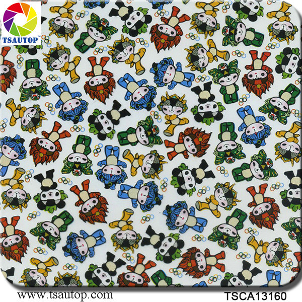 Tsautop 1m Width Cartoon Designs Water Transfer Printing Hydrographic Films