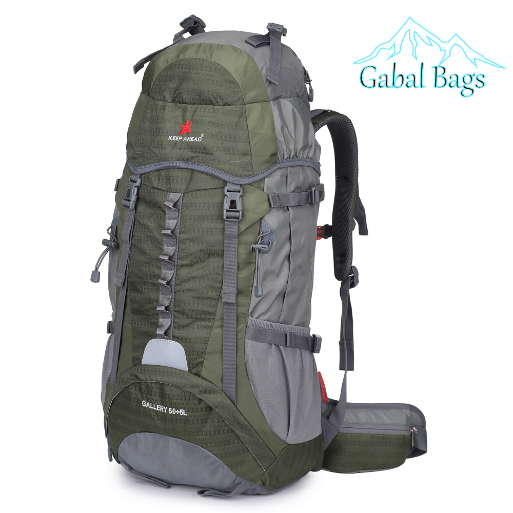 Best Fitting Large Capacity Nylon Outdoor Mountain Travel Sports Hiking Backpacks