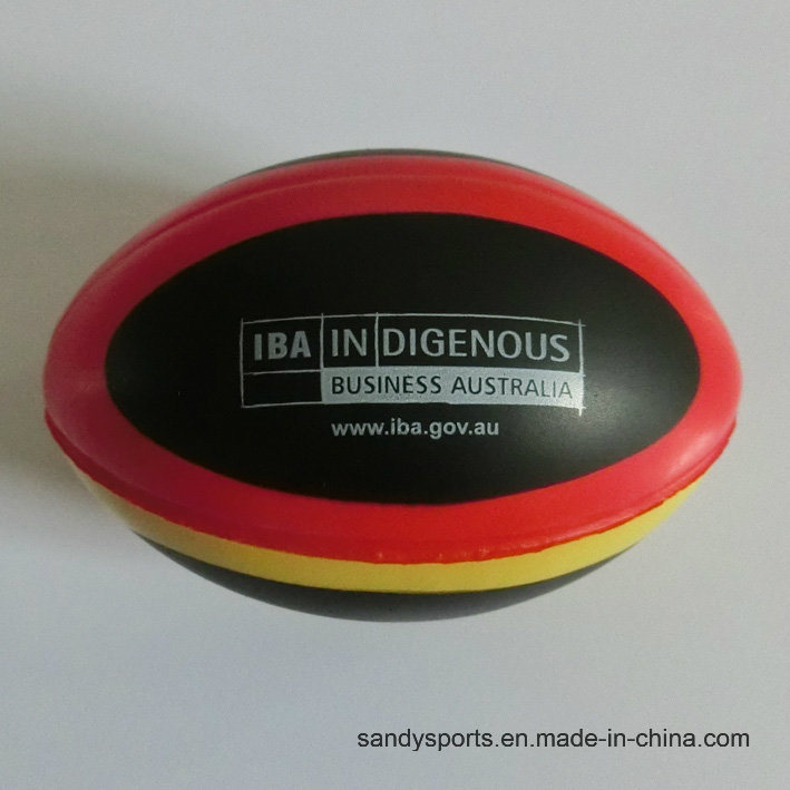 OEM Colorful PU Rugby Stress Ball