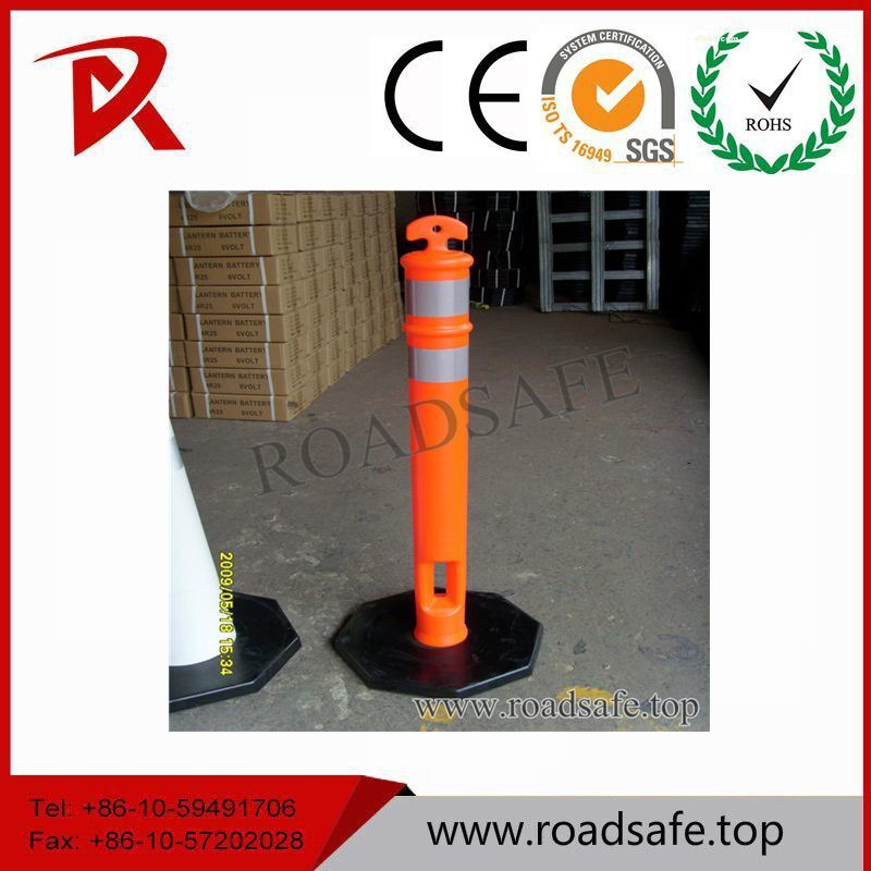 Traffic Plastic Reflective T-Top Guardrail Delineator