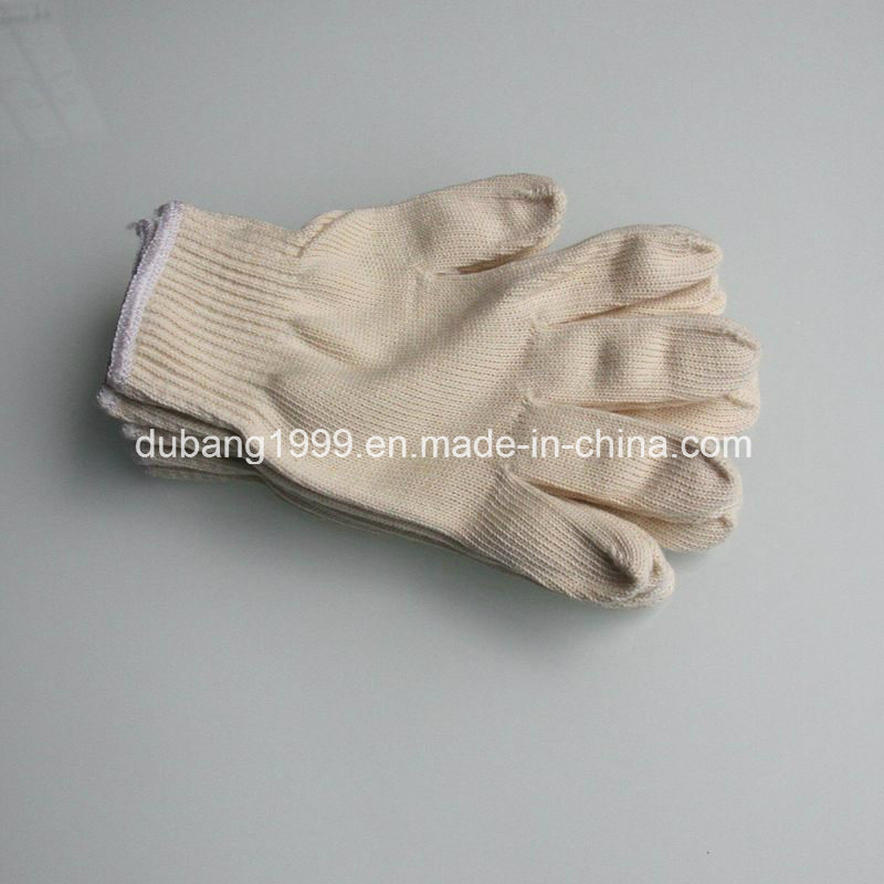 10 Gauge 100% Cotton Gloves with High Quality Safety Cotton