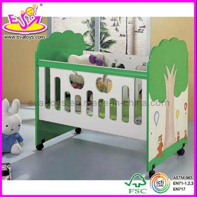 2015 New Popular Baby Cot, New Wooden Baby Cot, Baby Cot, Luxury Playpen Baby Cot Bed (WJ278323)