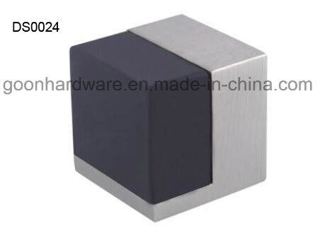 Zinc Door Stopper with Rubber Ds0020