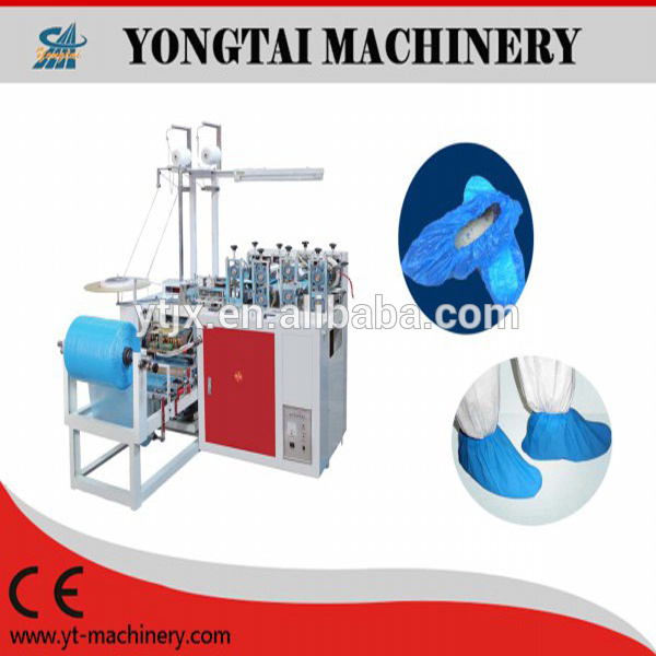 Best Price Disposable PE Plastic Shoe Cover Making Machine
