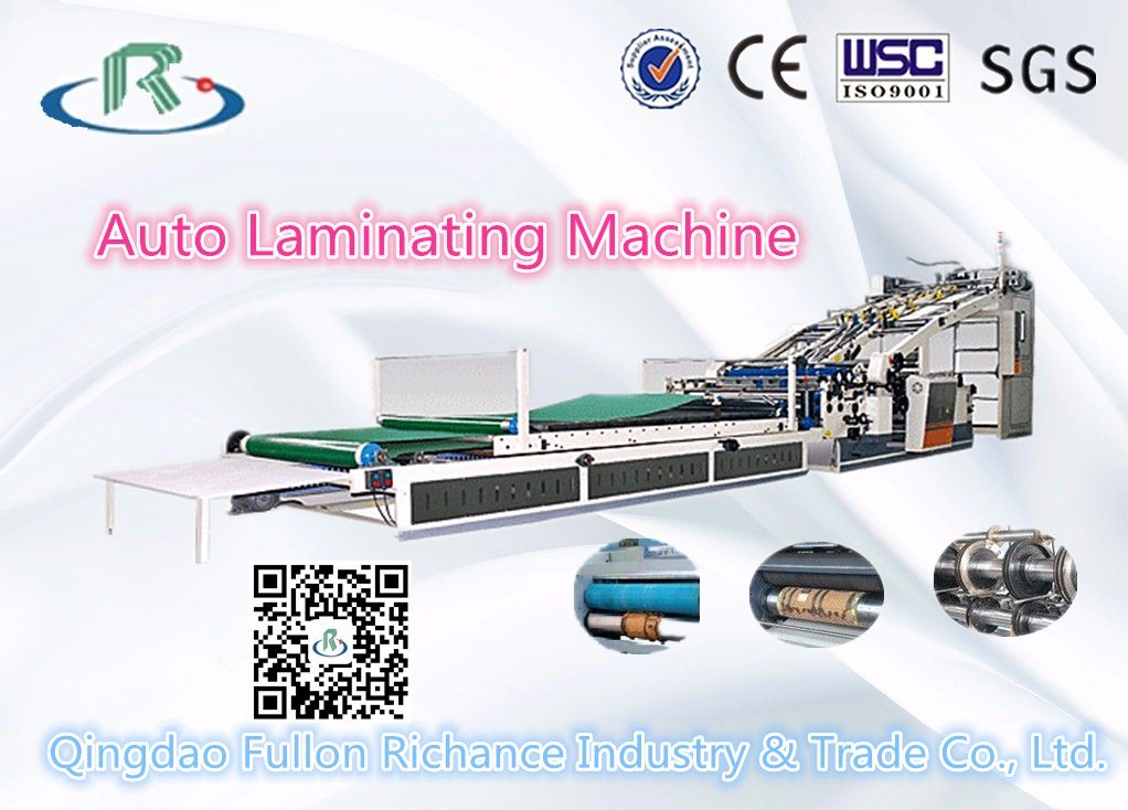 China Automatic High Speed Paperboard Flute Laminator Price