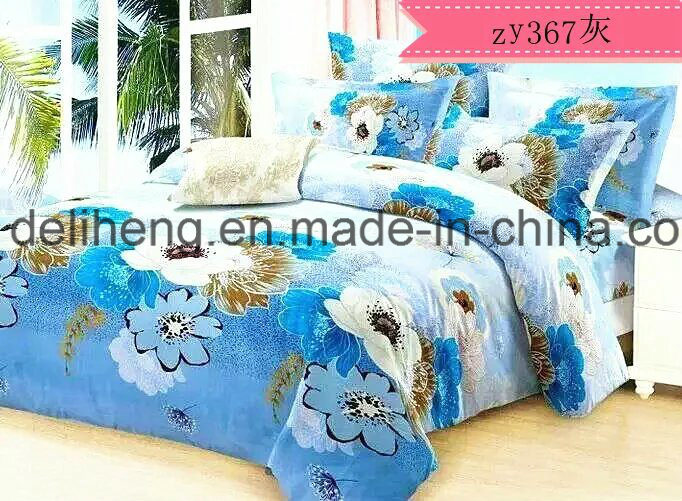 100% Microfiber Polyester Floral Cashmere Reactive Printed Sheeting Fabric