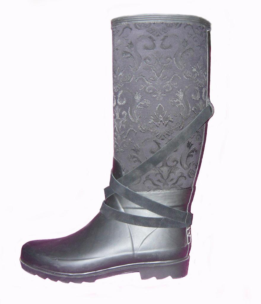 China Fashion Rubber Boots (FX-42) - China Rubber Boots ...