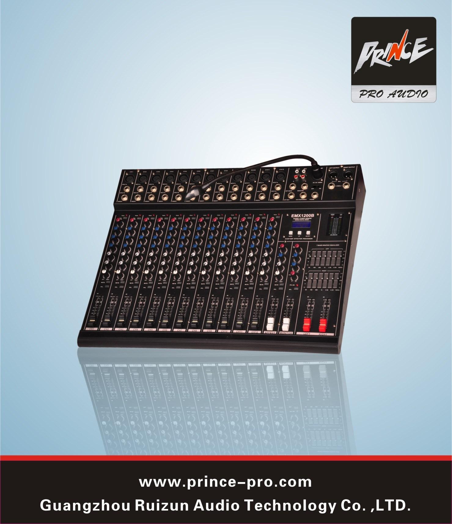 Pemx Sreies Sound Mixer