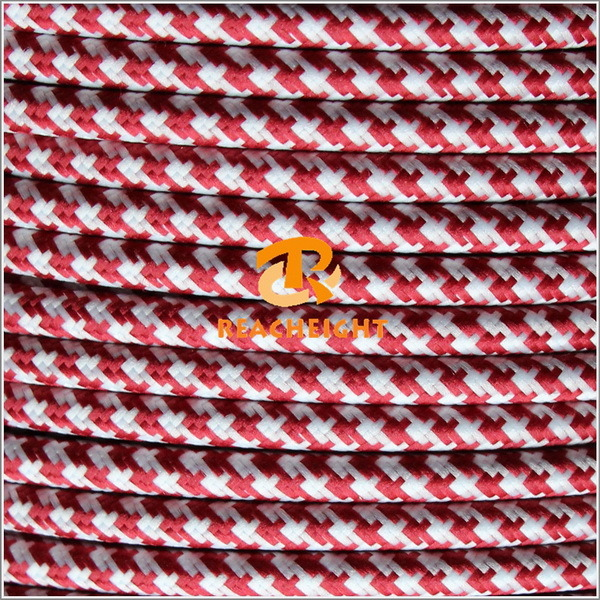 Textile Cable Fabric Wire Cotton Braided Electrical Wire