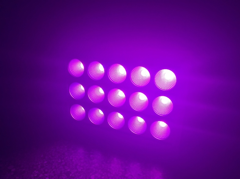 DMX RGB Color Changeable Pure White LED Footlights Lighting