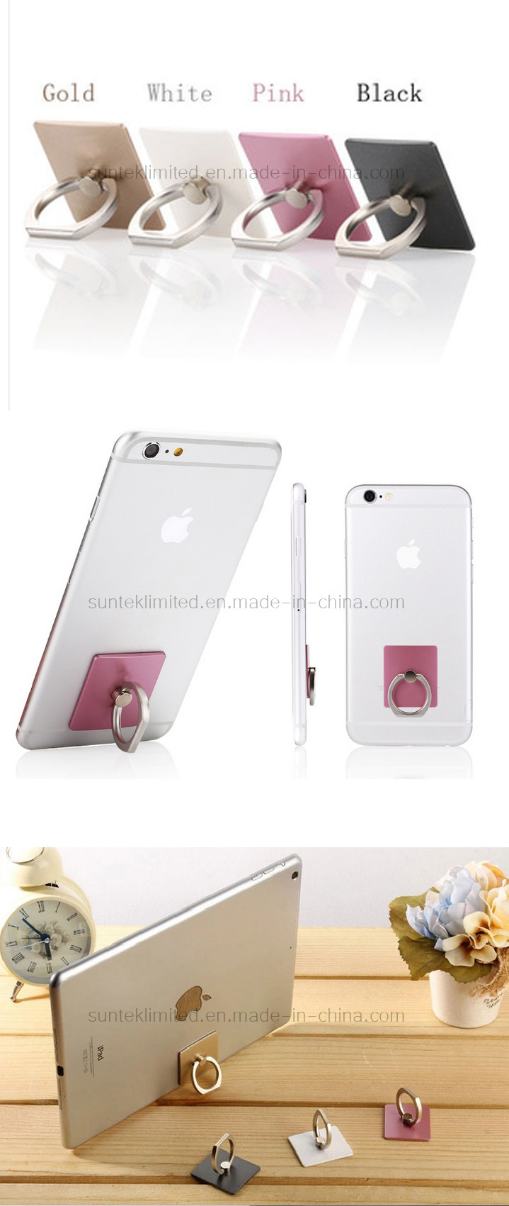 Mobile Phone Accessories Ring Holder Stand Fashion Jewelry