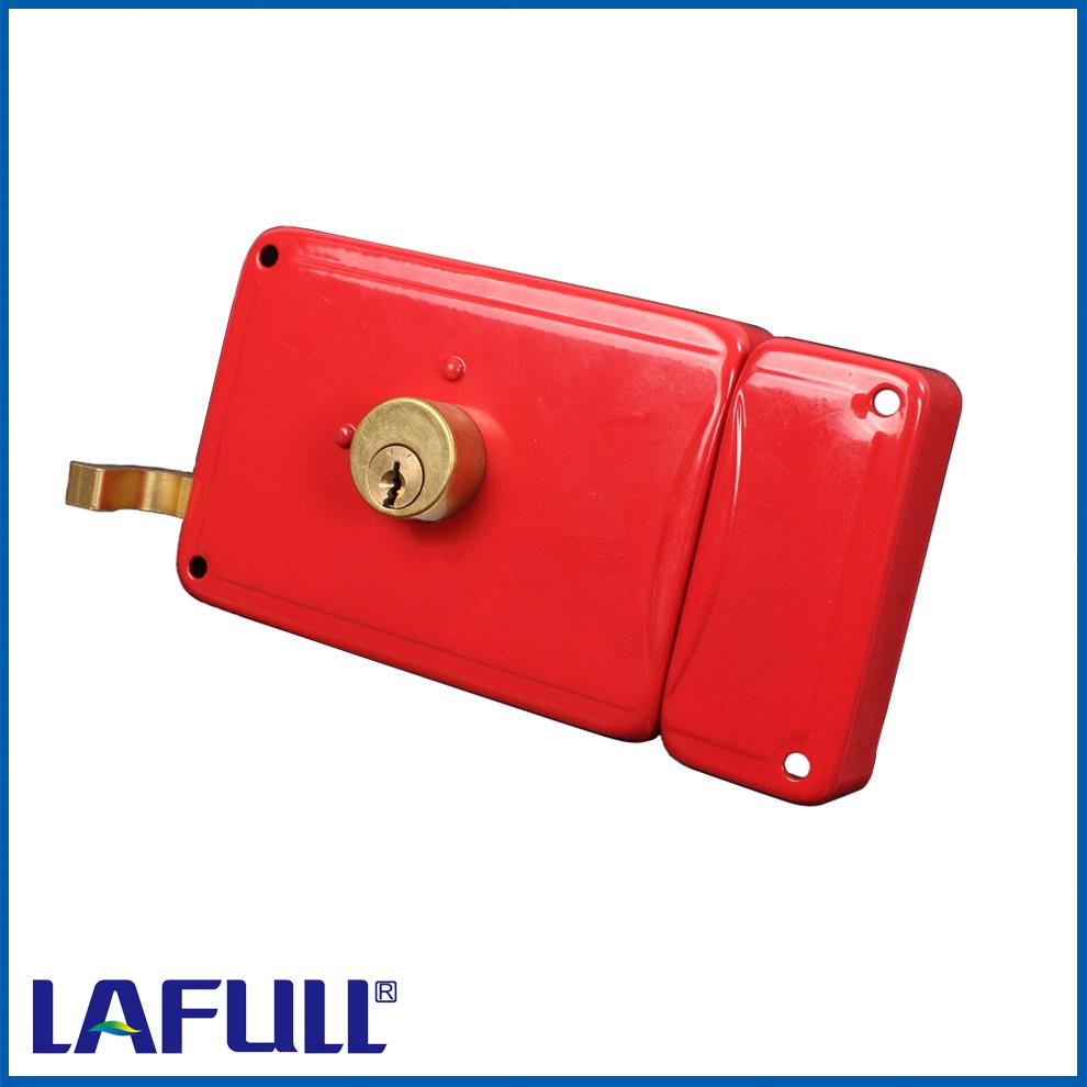 2020 Iron Lock Case Half Brass Plug Door Rim Lock