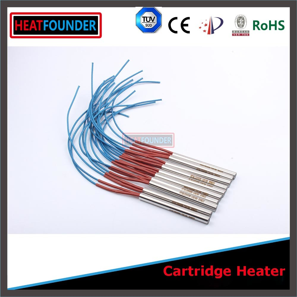 Single Tubular Cartridge Heater