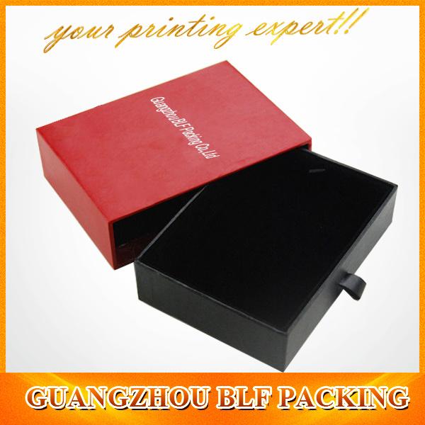White Cardboard Drawer Gift Box (BLF-GB286)