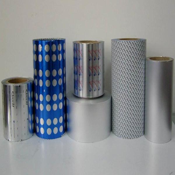 Printed Aluminum Blister Foil for Pills Packaging