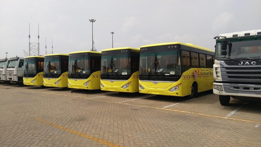 10.5m School Bus 55 Seats Diesel Bus Luxury School Bus with Low Price