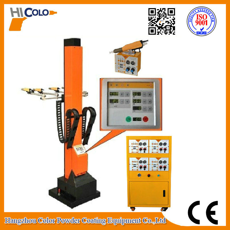 Automatic Powder Painting Robot with Ce