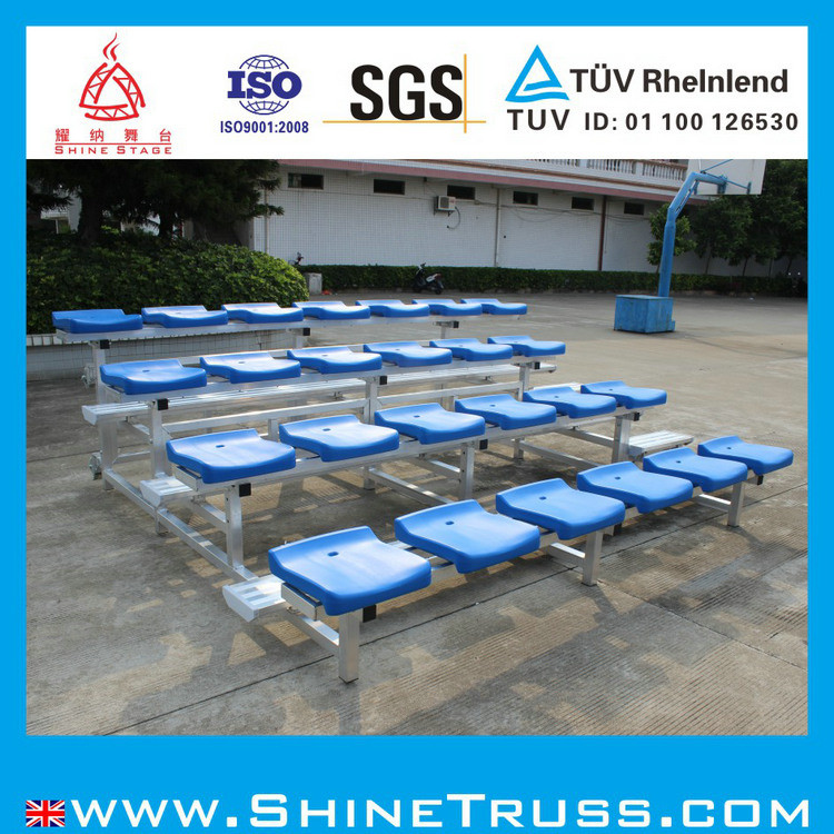 China Aluminum Bleachers Chair Plastic Chair Audience Chair – Chair for Bleachers
