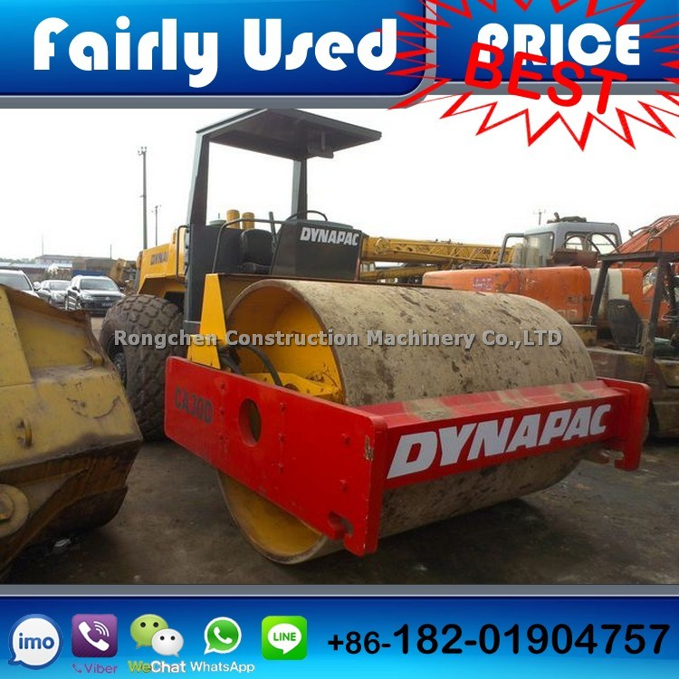 12 Ton Used Dynapac Road Roller Ca30d Road Roller