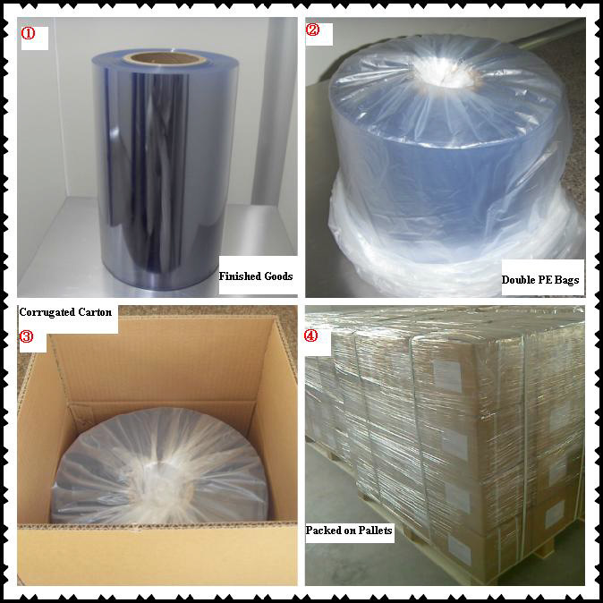 Glass Clear PVC Film for Blister Packing