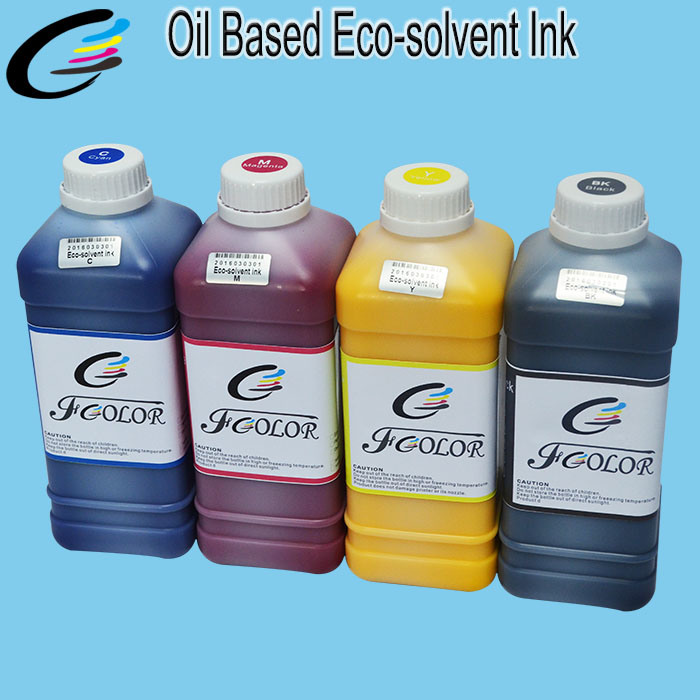 Roland Mimaki Mutoh Oil Based Eco Solvent Ink for Epson Dx5 Dx7 Head