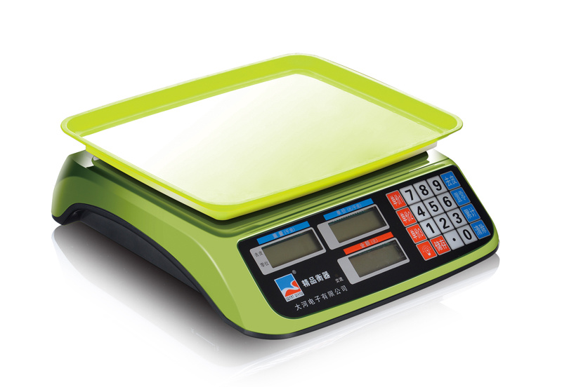 Small electronic price counting table scale (DH-607)