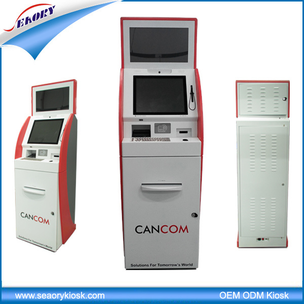 Customized Dual Screen Kiosk for Bill Payment Kiosk