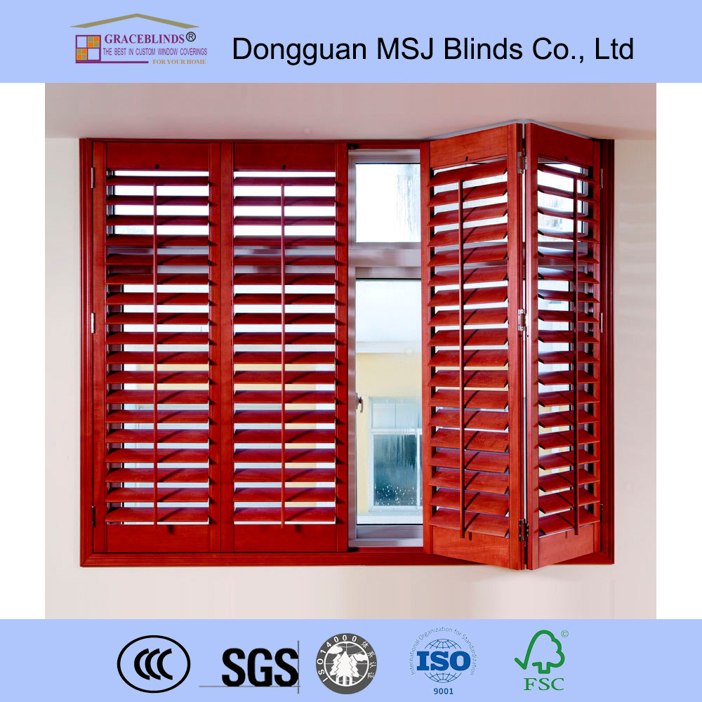 Plantation Window Wood Shutter Wooden Shutters