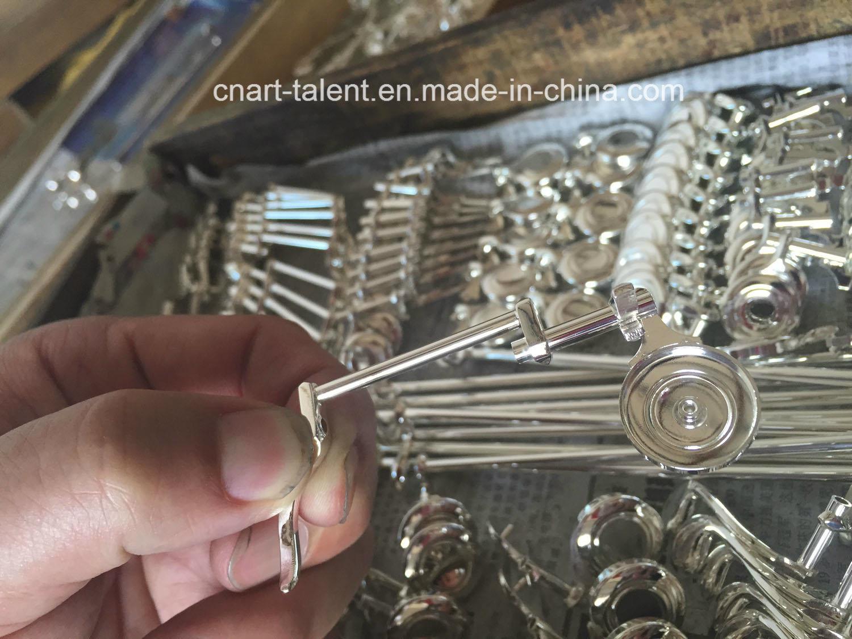 16keys Closed Student Nickel Plated Flute (FL-100N)