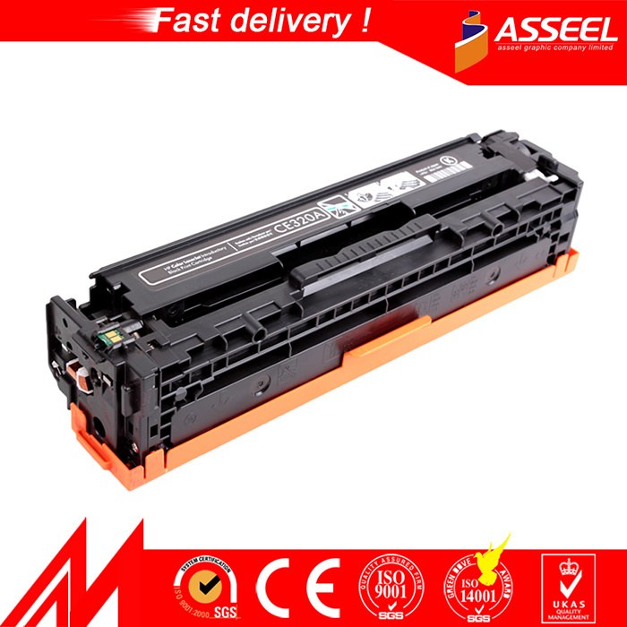 Premium Compatible Laser Color Toner Cartridge Ce320A-Ce323A 128A for HP
