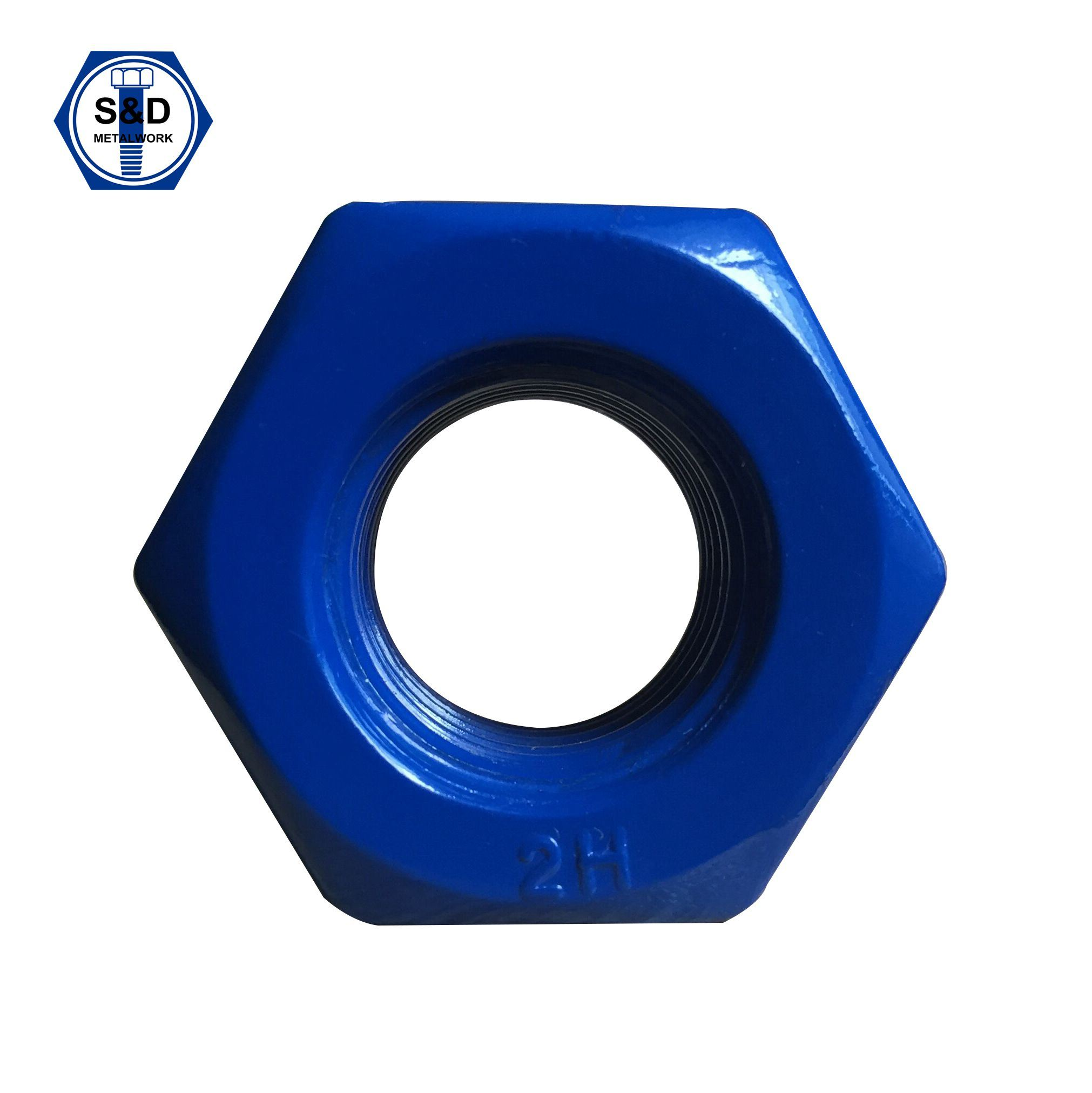 Heavy Hex Structural Nuts ASTM A194 2h Teflon