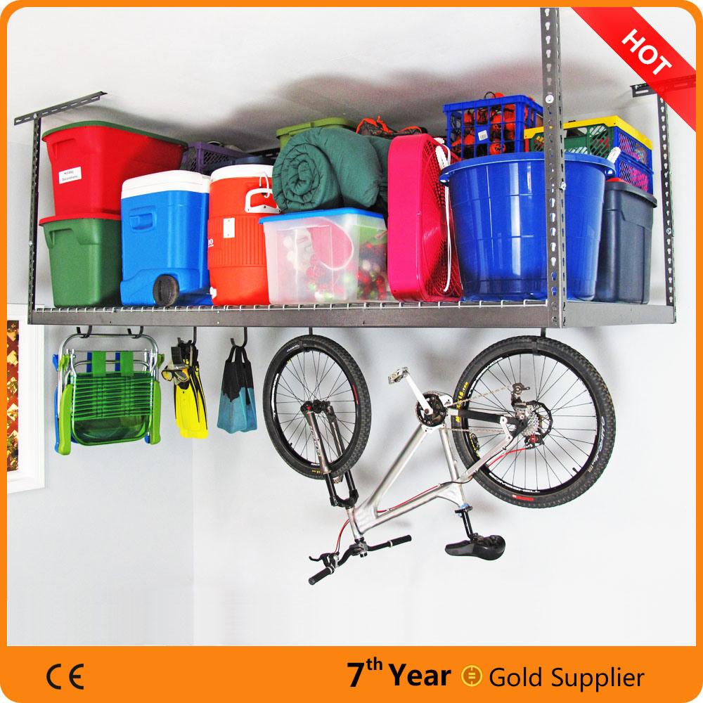 Cheap Price Overhead Garage Storage Rack, High Quality Overhead Storage Rack