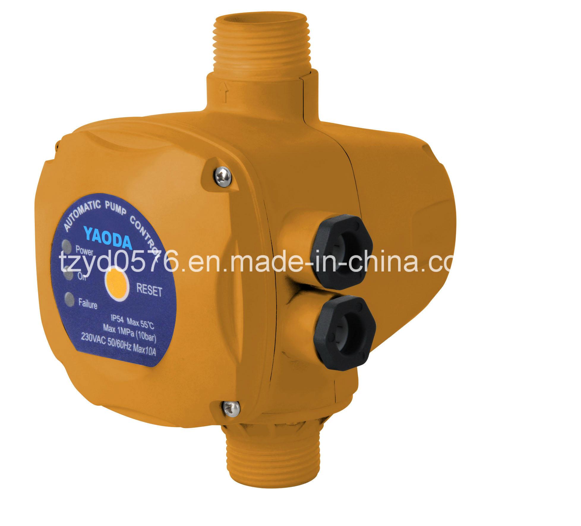 Automatic Water Pump Pressure Control