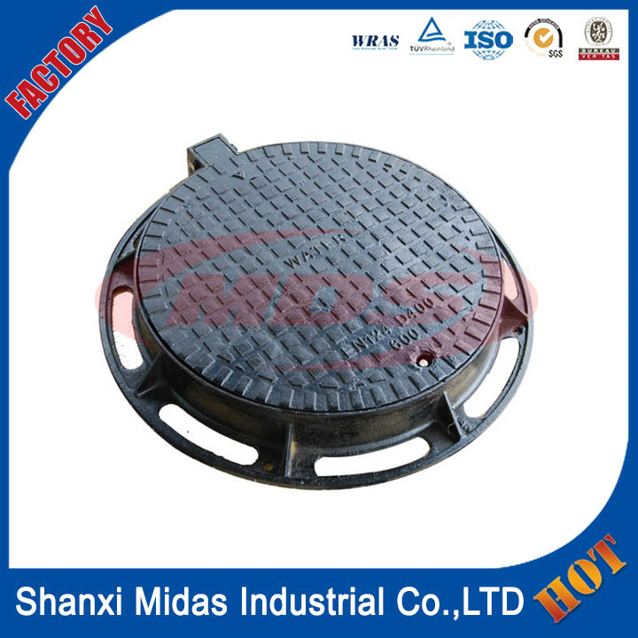 Hot Selling Standard Lockable Manhole Cover, Hinged Telecom Manhole Cover