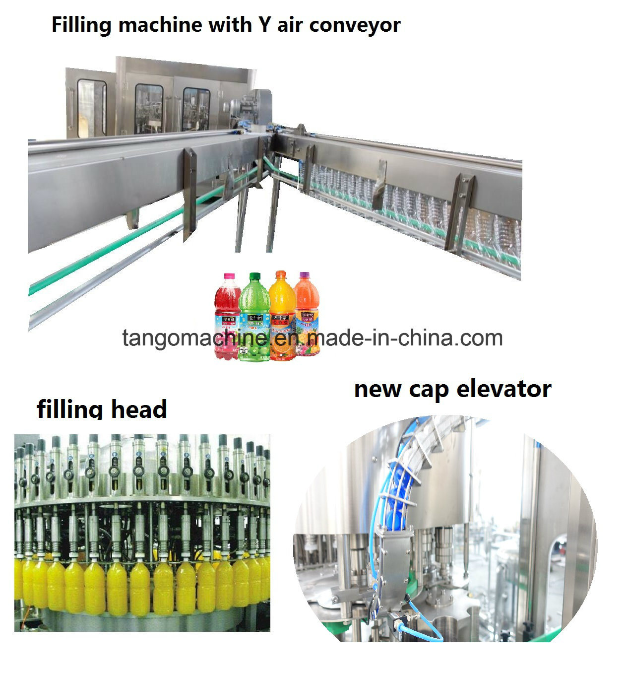 Automatic Complete Juice and Water Packing Bottling Line