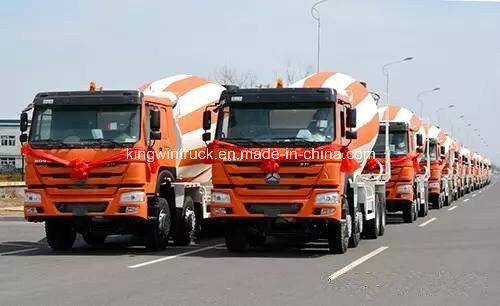 Sinotruk HOWO Brand 6X4 Driving Type Concrete Mixer Truck