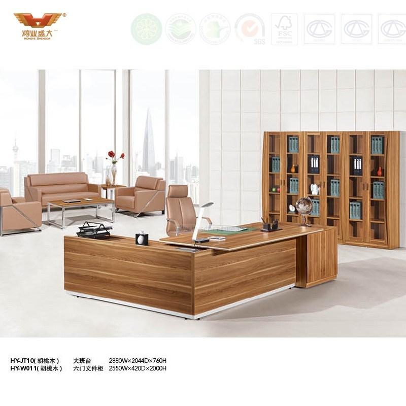 Modern Office Furniture Wooden Office Desk (HY-JT10)