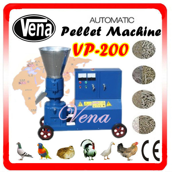 Best Price for Animal Feed Pellet Making Machine for Poultry Vp-200